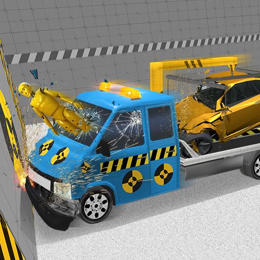 Car Crash Test X2 Truck Simulator