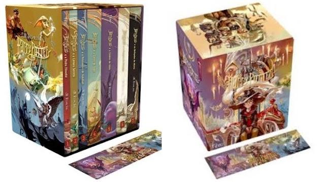 Box de Livros Harry Potter edição exclusiva Magazine Luiza por apenas R$ 123,41