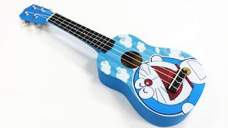 dan ukulele hinh doremon