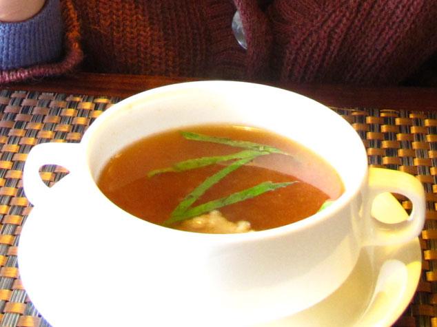 夠義式創意料理-清燉牛肉清湯