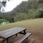 Picnic area above Bents Basin