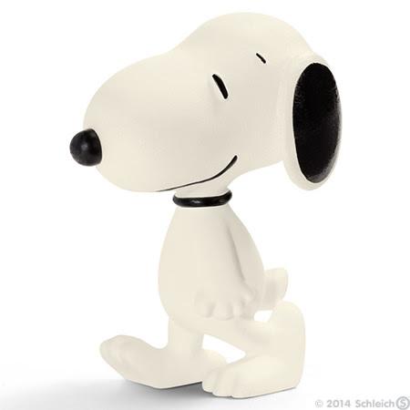 Contenido real de Schleich® Snoopy Caminando