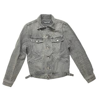 Tom Ford Grey Denim Jacket