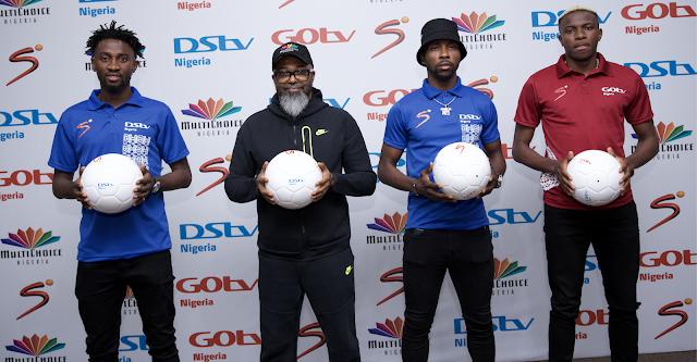 MultiChoice Nigeria Signs Wilfred Ndidi, Kelechi Iheanacho, Victor Osimhen As Brand Ambassadors ~Omonaijablog