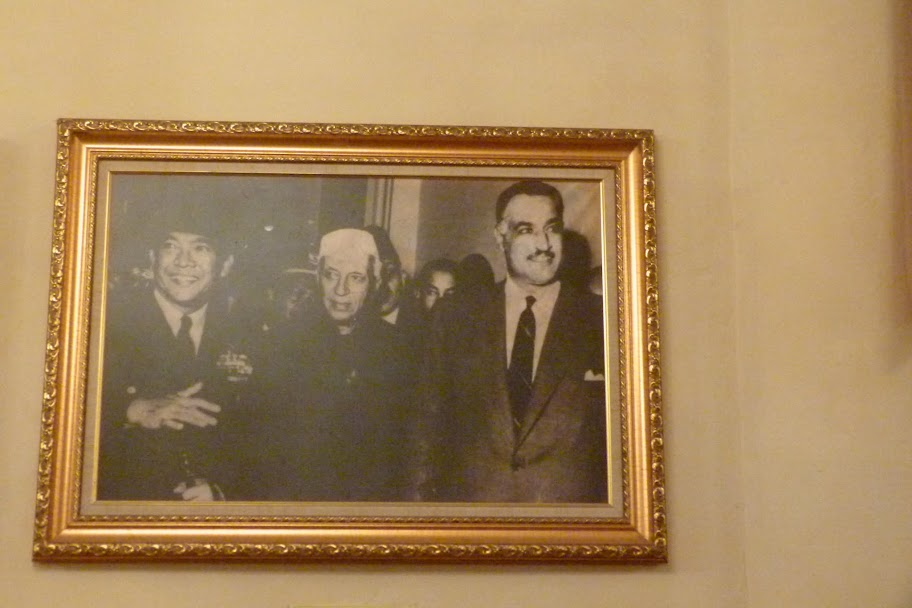 Non-aligned Sukarno, Nehru and Nasser