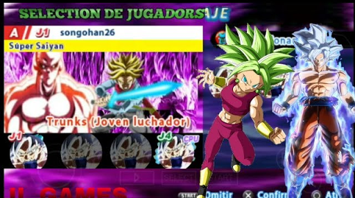 SAIUU!!! NEW MENÚ + ISO MEGA MOD TENKAICHI TAG TEAM FULL DRAGON BALL SUPER 2018 DBZ TTT + DESCARGA