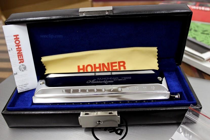 Kèn Harmonica - Hohner Meisterklasse Chromatic
