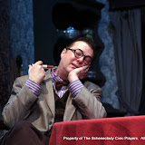 Richard Michael Roe in ARSENIC AND OLD LACE (R) - May 2011.  Property of The Schenectady Civic Players Theater Archive.
