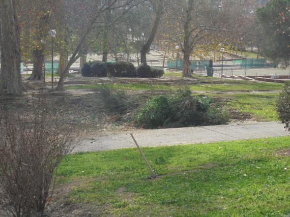 Mejoras en los parques Rodríguez Sahagún y Carlos París de Tetuán