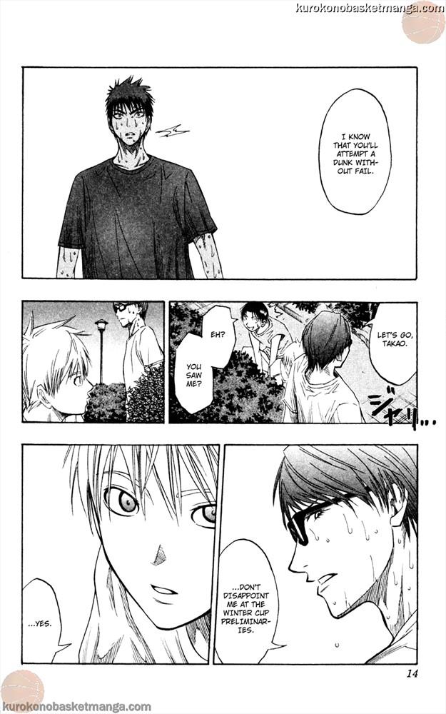 Kuroko no Basket Manga Chapter 62 - Image 12