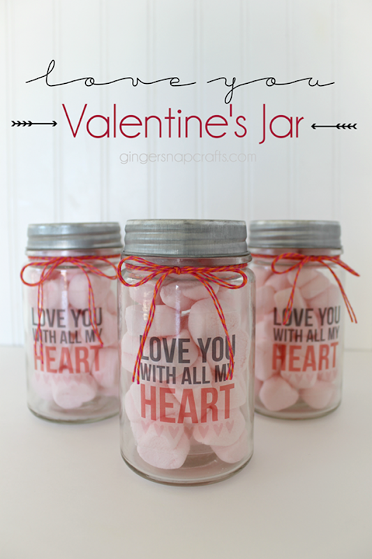 Love You Valentine's Jar at GingerSnapCrafts.com #Valentine #printandcut #Silhouette_thumb
