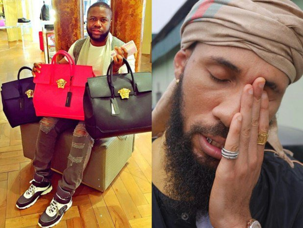 "BEEF ALERT !! Hushpuppi Blasts Phyno , Olamide & Timaya After Watching ""Telli Person "" Video ( See What He Said )"
