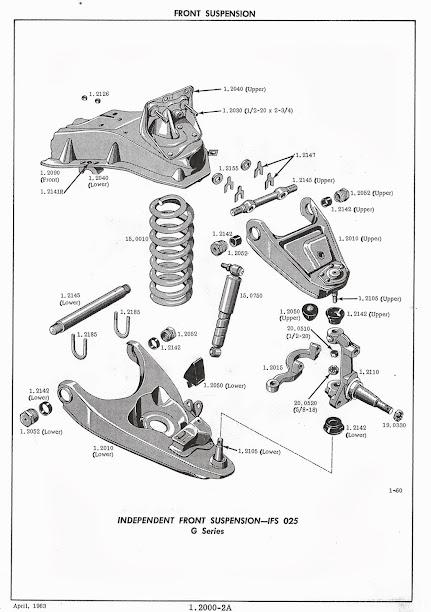 chevy silverado front end diagram