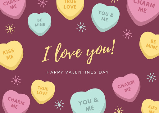 Valentine's Day Animated E-Card for Girlfriend