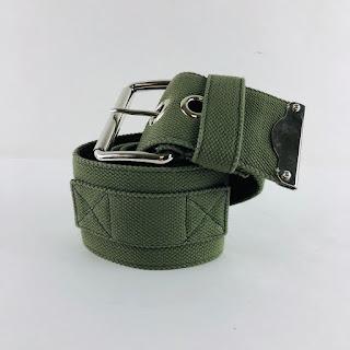 Miu Miu Wide Military Belt