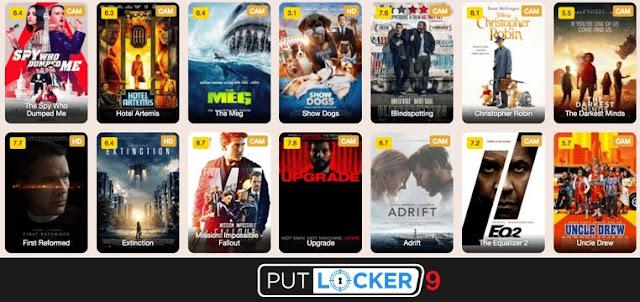 Putlocker9 2021- Illegal movies downloading website