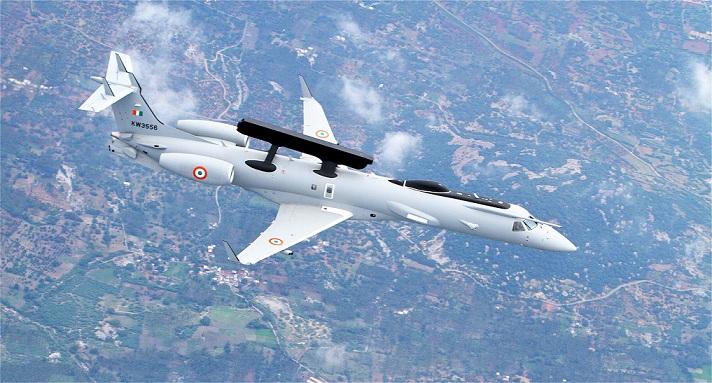 IAF ERJ-145 with Netra AEW&CS