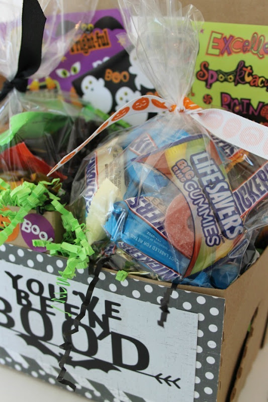 candy box for Halloween
