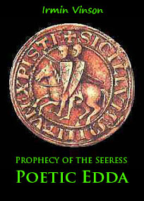 Cover of Irmin Vinson's Book Prophecy of the Seeress Poetic Edda