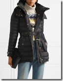 Burberry Hooded Quilted Shell Down Jacket
