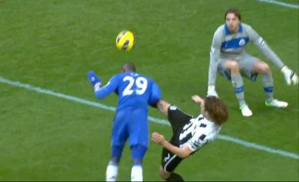 Demba Ba, Newcastle - Chelsea