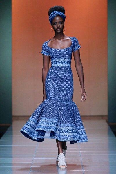 Best 10 Shweshwe Traditional Dresses Desgins 4