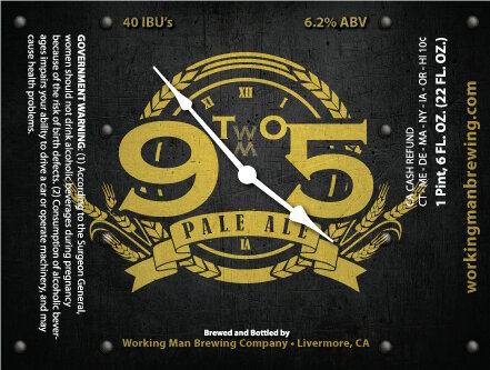 Logo of Working Man 9 to 5 Pale Ale