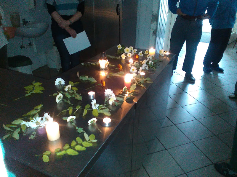 Halottak napi megemlékezés a berceli Harmónia intézetben - 2015.10.29.