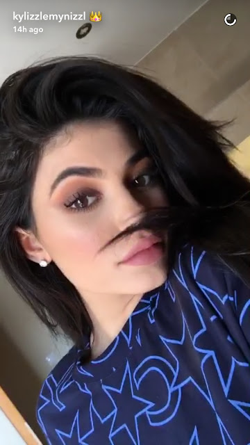 Kylie Jenner makeup look
