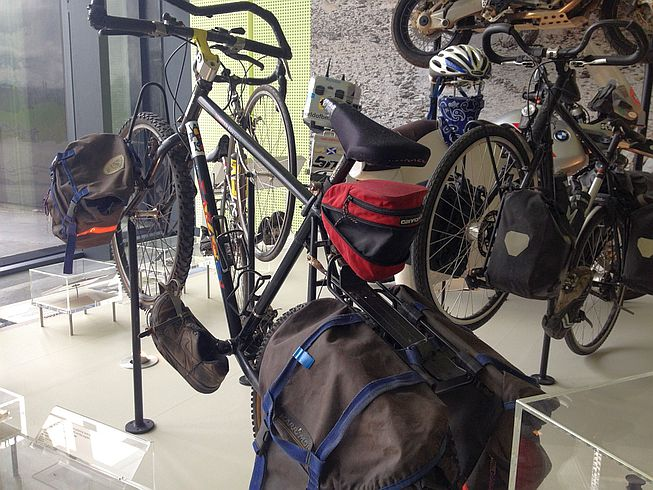 Long distance cycling: Riverside Museum, Glasgow