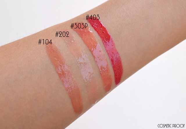 Make Up For Ever Artist Plexigloss Review Swatch (4)