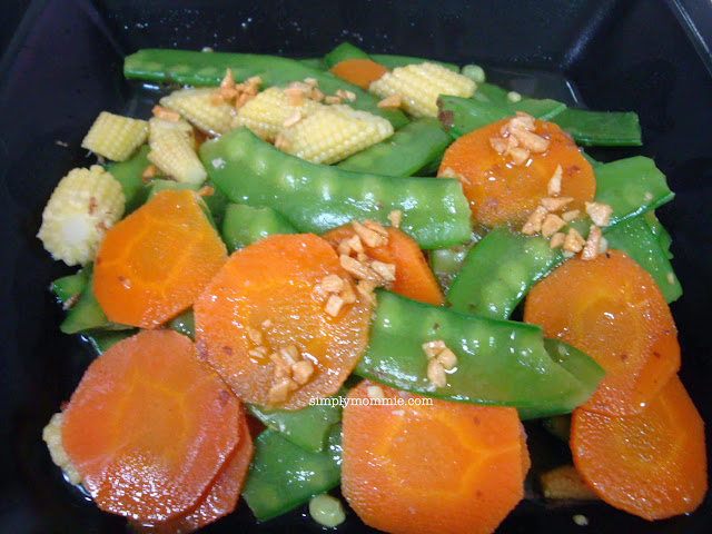 stir fried snow peas and carrots