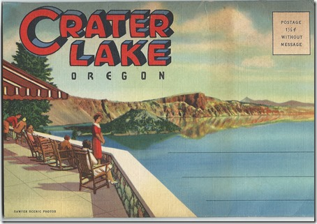 Crater Lake Postcards