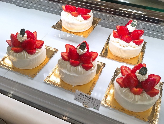 5 新宿高野 TAKANO 東京池袋西武百貨 水果蛋糕 草莓蛋糕