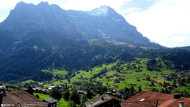 mesmerizing view in Grindelwald, Switzerland in Grindelwald, Bern, Switzerland