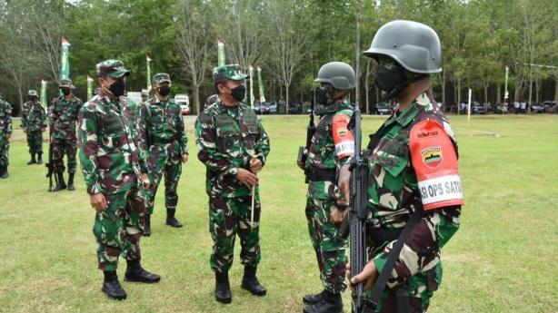 Kembali Yonif 123/RW Akan di Tugaskan Menembus Papua