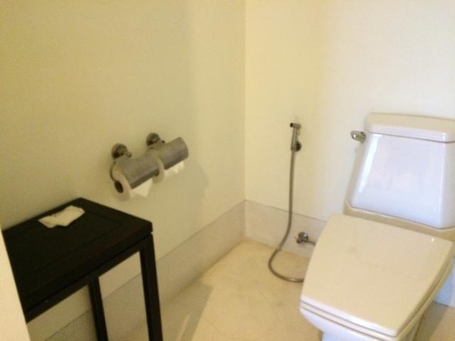 toilet room  at yaiya resorts, hua hin, thailand