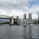 Burrard Bridge in Vancouver in Vancouver, British Columbia, Canada