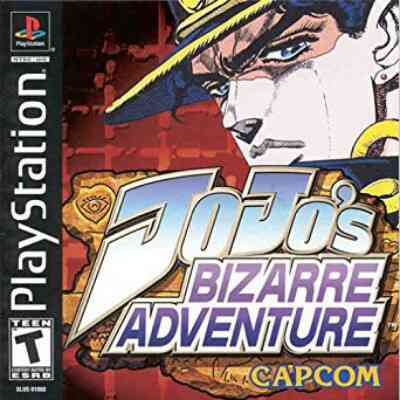 Jojo's Bizarre Adventure PSX Cover