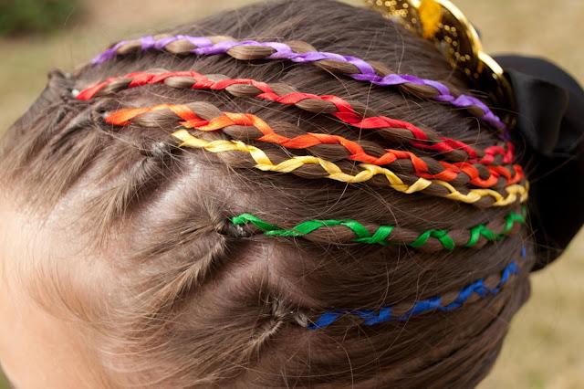 All Hair Makeover Ribbon Braids For Long Hair