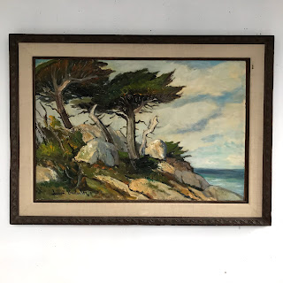 Joseph Hastings Bennett Signed Landscape Oil