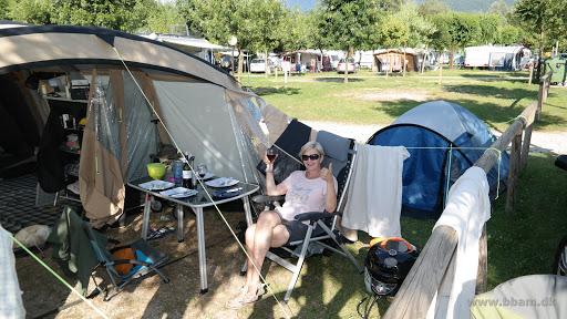 camping i telt italien