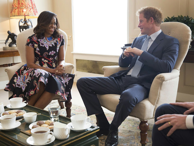 "Michelle Obama Told Duchess Meghan: ""Don't Be In A Hurry To Do Anything"""