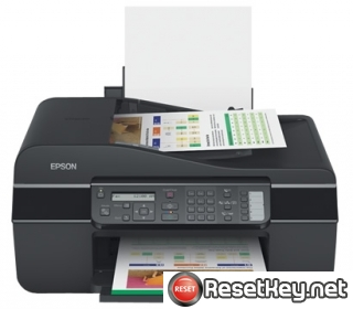 Reset Epson ME-600F printer Waste Ink Pads Counter