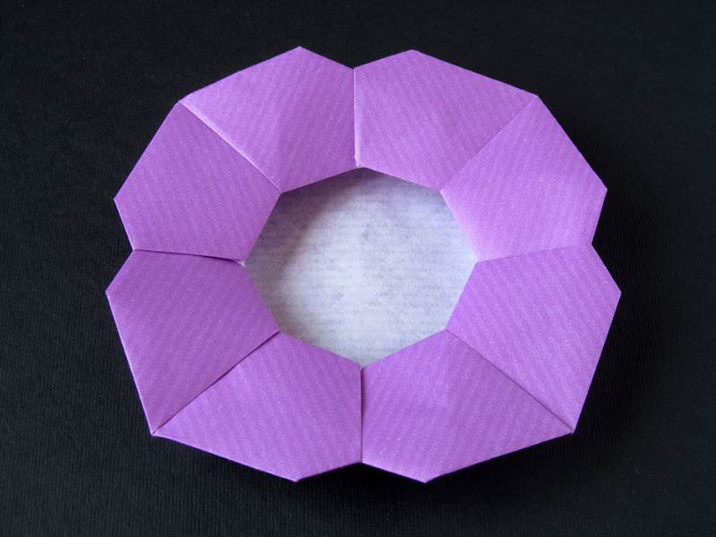 Origami foto Piatto a fiore - Flower Dish, Francesco Guarnieri