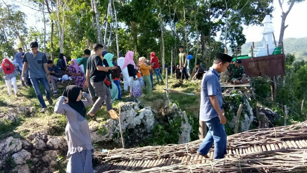 Pasca Lebaran Puncak Lima Jari Diserbu Pengunjung