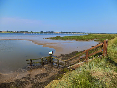 View across the Deben estuary