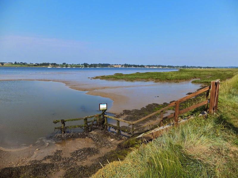 View across the Deben estuary