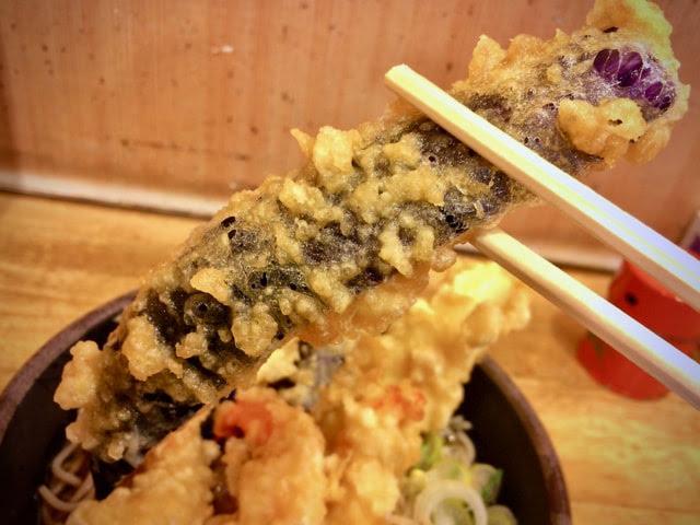 ナスの天ぷら