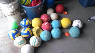 Photo: Misc balls
